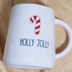 Rae Dunn Holly Jolly Mug